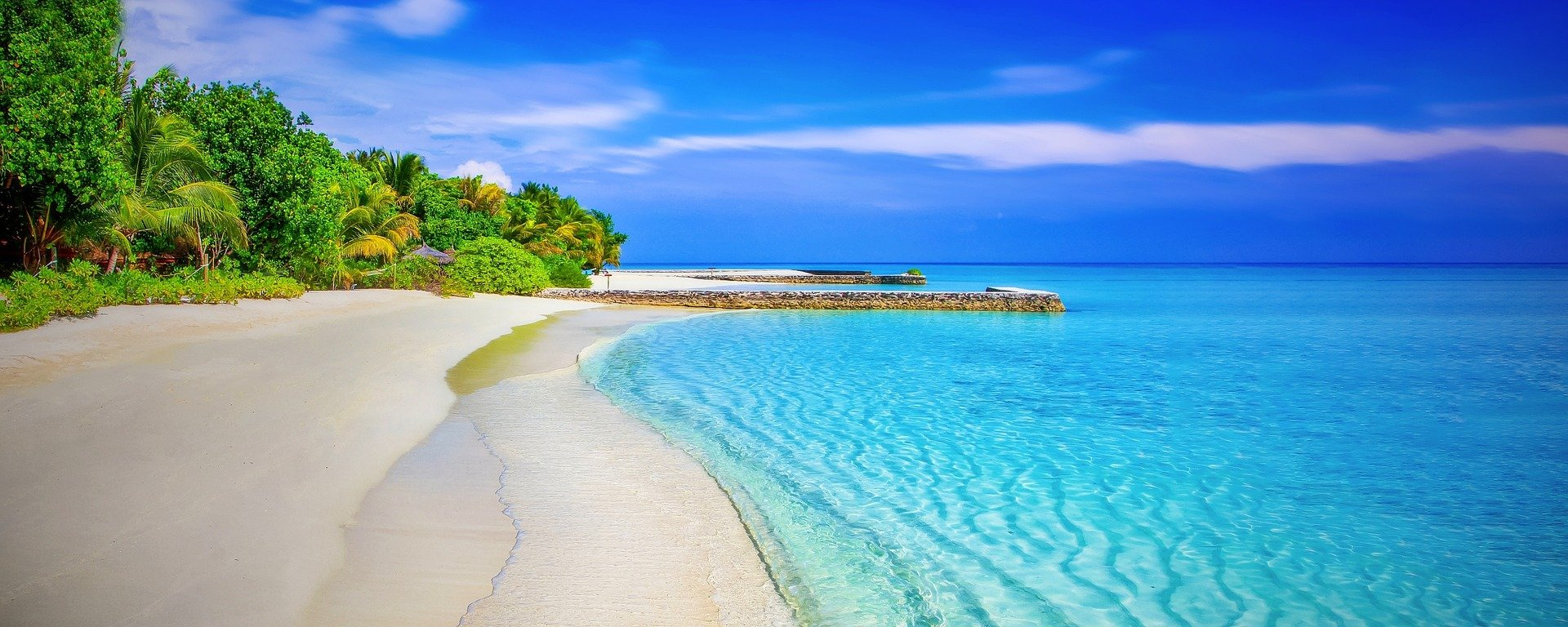 Pictured - A view of the beach on an island   Source:Pixabay