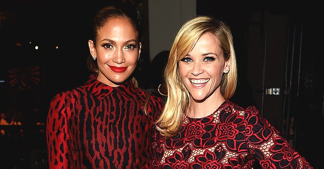 Reese Witherspoon and Jennifer Lopez Both Wore Red to the Same Party — Check Out Their Dresses