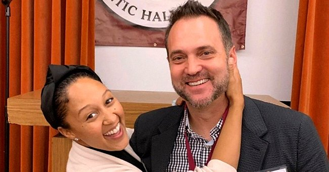Tamera Mowry Shares TBT Pic with Husband Adam during a Vacation When They Were Still Engaged