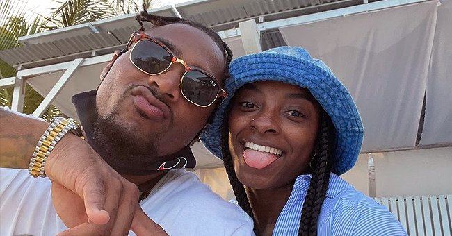 Simone Biles Gushes over Traveling with Boyfriend Jonathan Owens While Posing in a Cool Photo