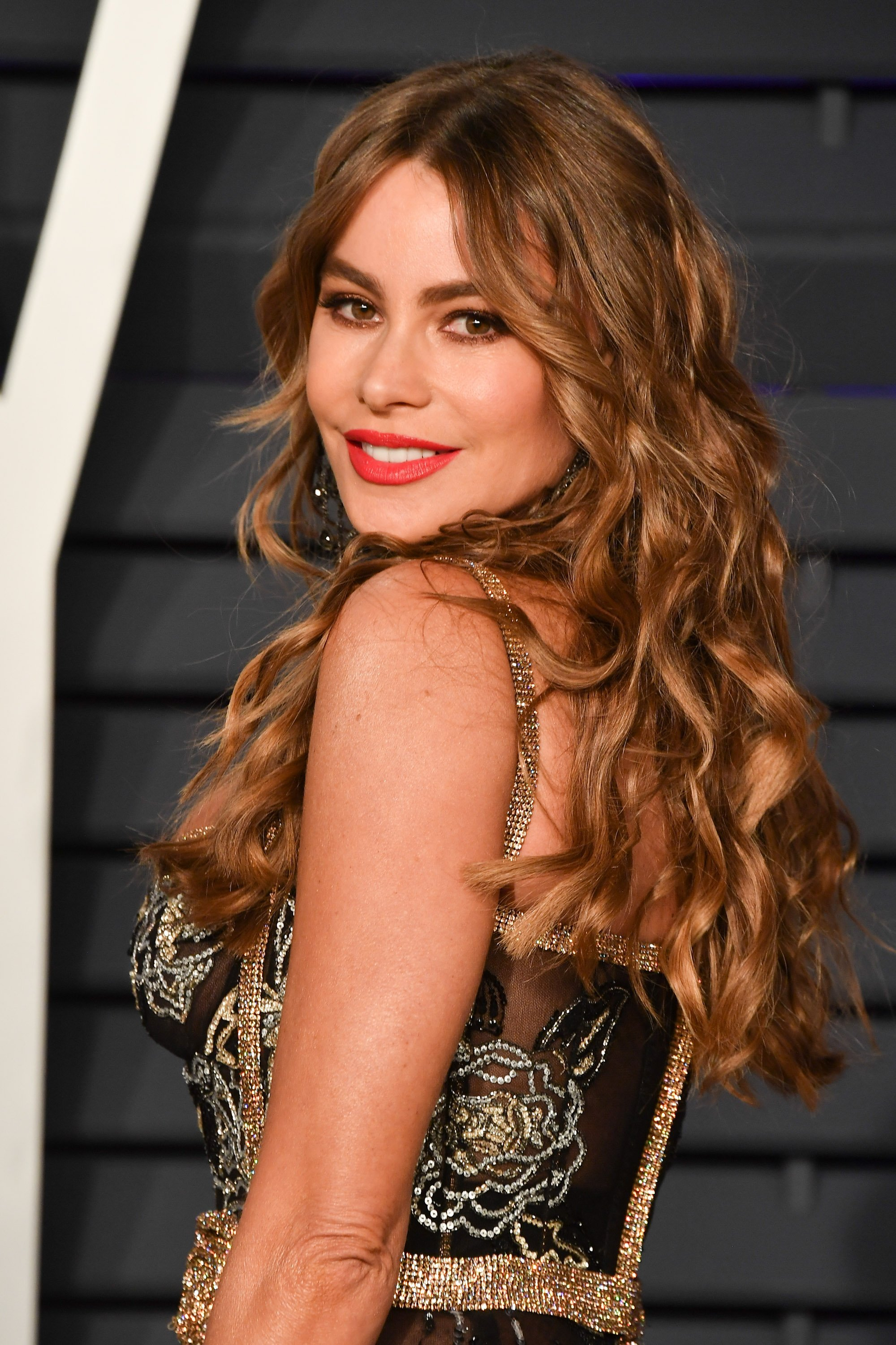 Sofia Vergara attends the 2019 Vanity Fair Oscar Party on February 24, 2019, in Beverly Hills, California. | Source: Getty Images.