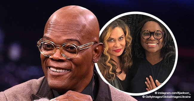 Samuel L. Jackson's wife LaTanya flashes bright smile in pic with Beyoncé's mom Tina Lawson