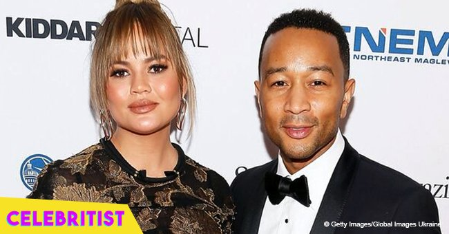 John Legend's wife posts pic of son on his original due date revealing he arrived 3 weeks early