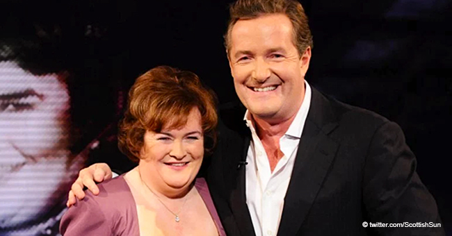 'Piersy Baby': Susan Boyle Opens up About Her Crush on TV Host Piers Morgan