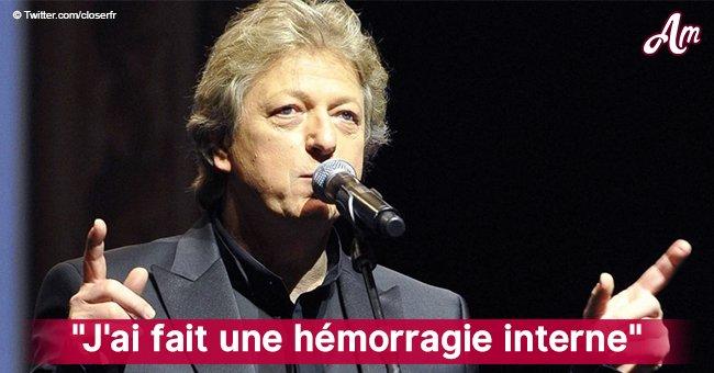"""""""Ça s'est mal passé"""": Une ancienne star française du disco annonce qu'il a été opéré d'un cancer"""