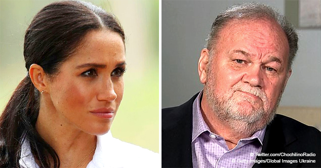 Meghan Markle's Dad Reacts to Birth of Royal Grandson
