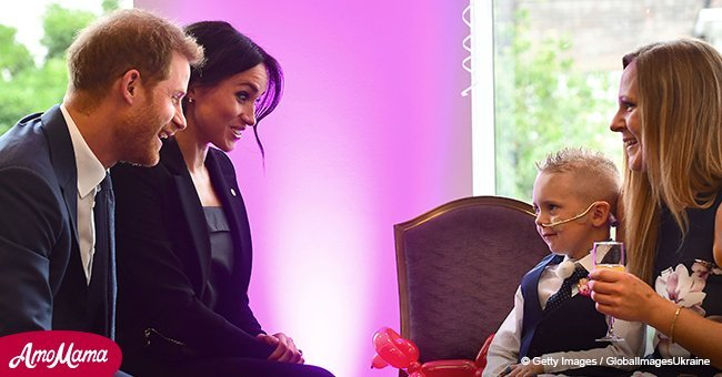 Meghan Markle and Prince Harry honor gravely ill children at the WellChild Awards