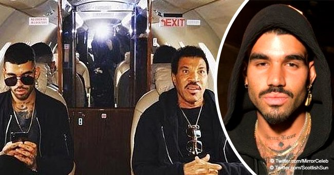 Lionel Richie's son reportedly cautioned after he makes a bomb threat and hits security at airport