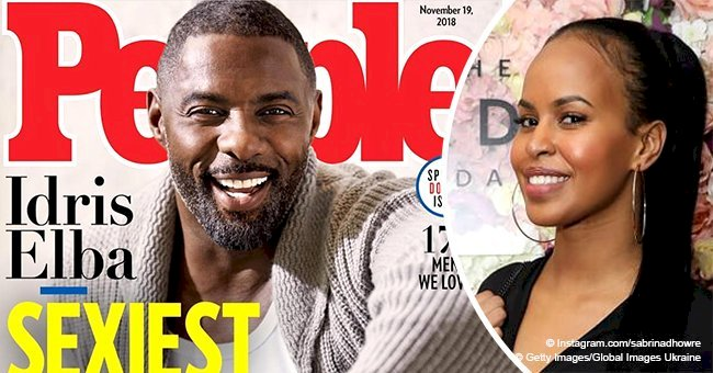Idris Elba's fiancée shares photo of 'hubby' after he was hailed 'People's 'Sexiest Man Alive'