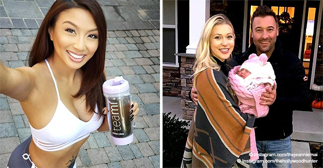 Jeannie Mai flaunts flat tummy & tattoo in workout outfit