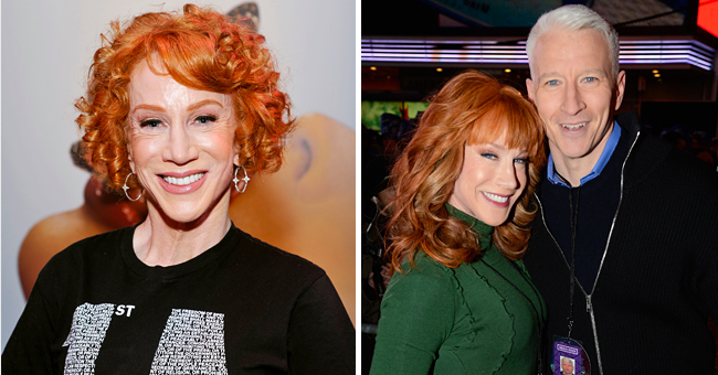 Kathy Griffin Shares Tribute to Anderson Cooper's Mom Gloria Vanderbilt 2 Years after Falling-Out with Him