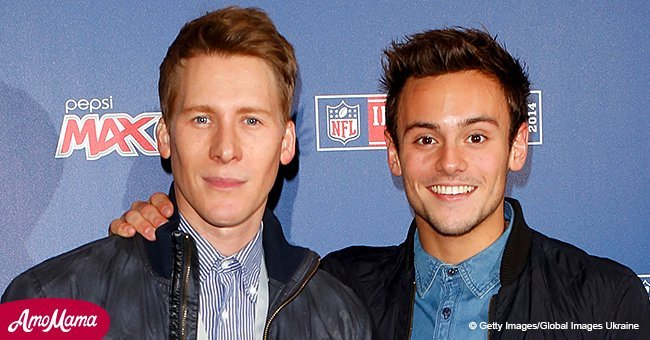 Tom Daley and Dustin Lance Black welcome first child