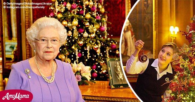La reina no quita las decoraciones navideñas hasta febrero debido a su difunto padre
