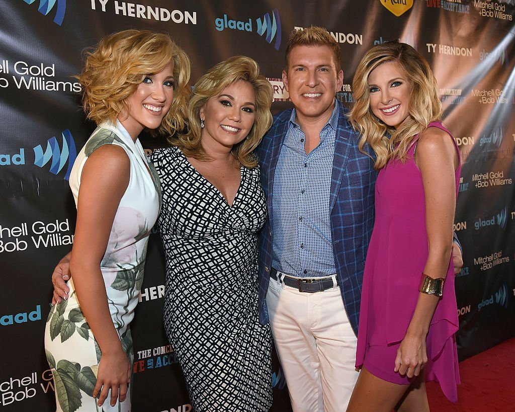 Savannah Chrisley, Julie Chrisley; Todd Chrisley and Lindsie Chrisley Campbell at The Concert For Love And Acceptance at City Winery Nashville. | Source: Getty Images