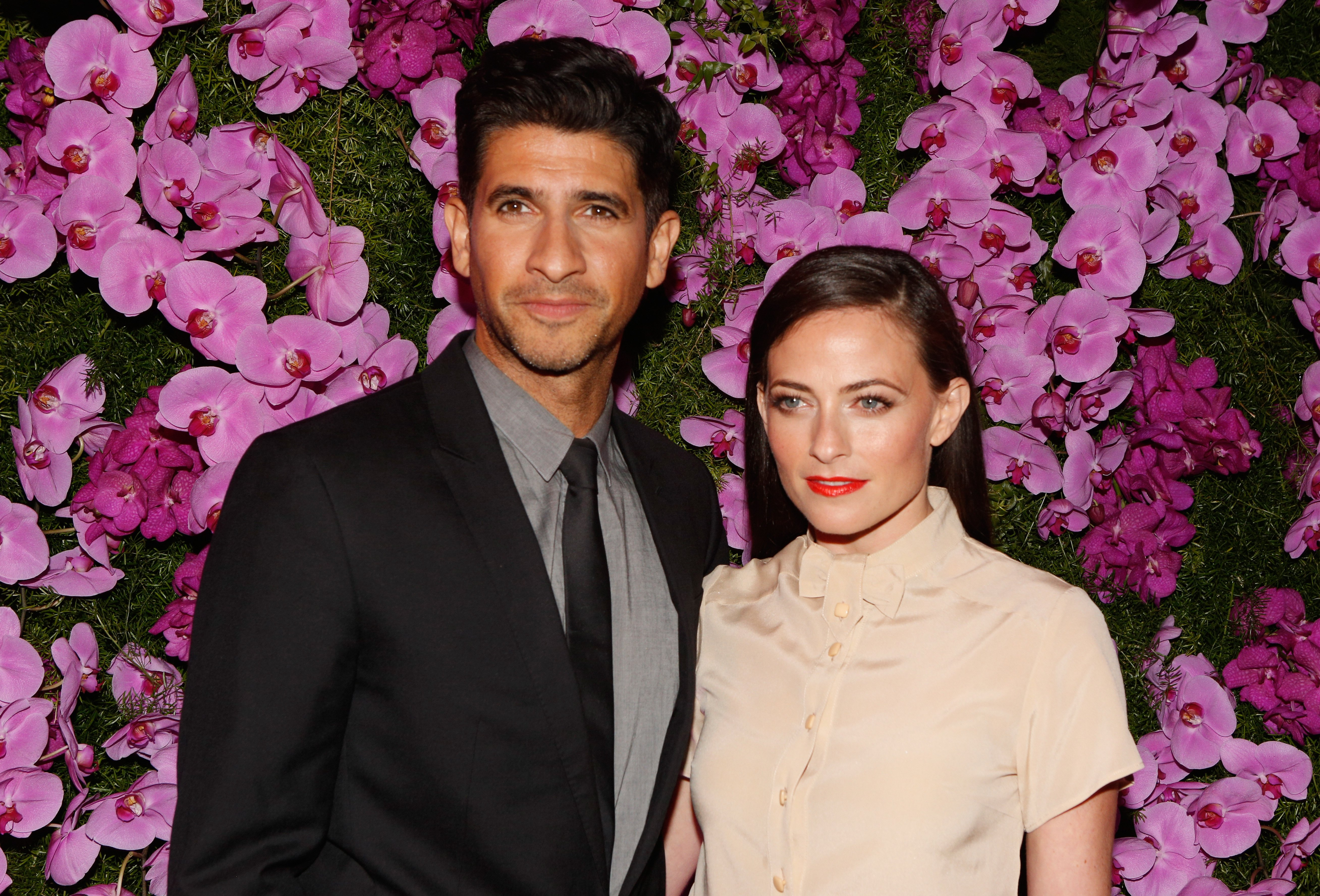 Raza Jaffrey and Lara Pulver attend BVLGARI and Save The Children STOP. THINK. GIVE. Pre-Oscar Event on February 17, 2015 | Photo: GettyImages
