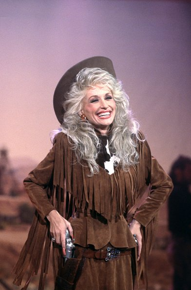 """Dolly Parton in a scene from """"Dolly,"""" in 1988.   Photo: Getty Images"""