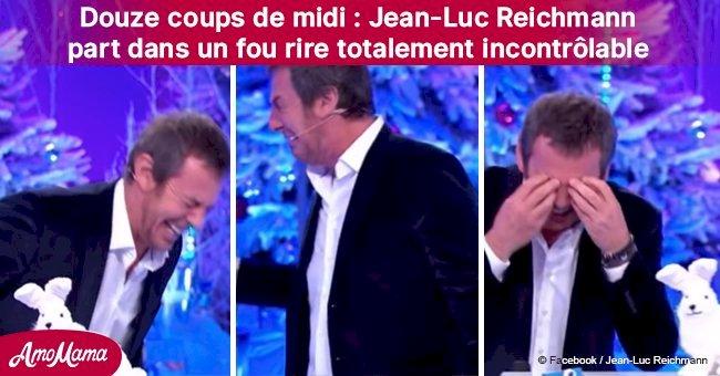 Les 12 Coups de midi: Jean-Luc Reichmann, en larmes de rire, arrête presque le spectacle