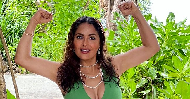 Salma Hayek Shares How She Conquered Her Fear of Snakes While Filming 'From Dusk till Dawn'