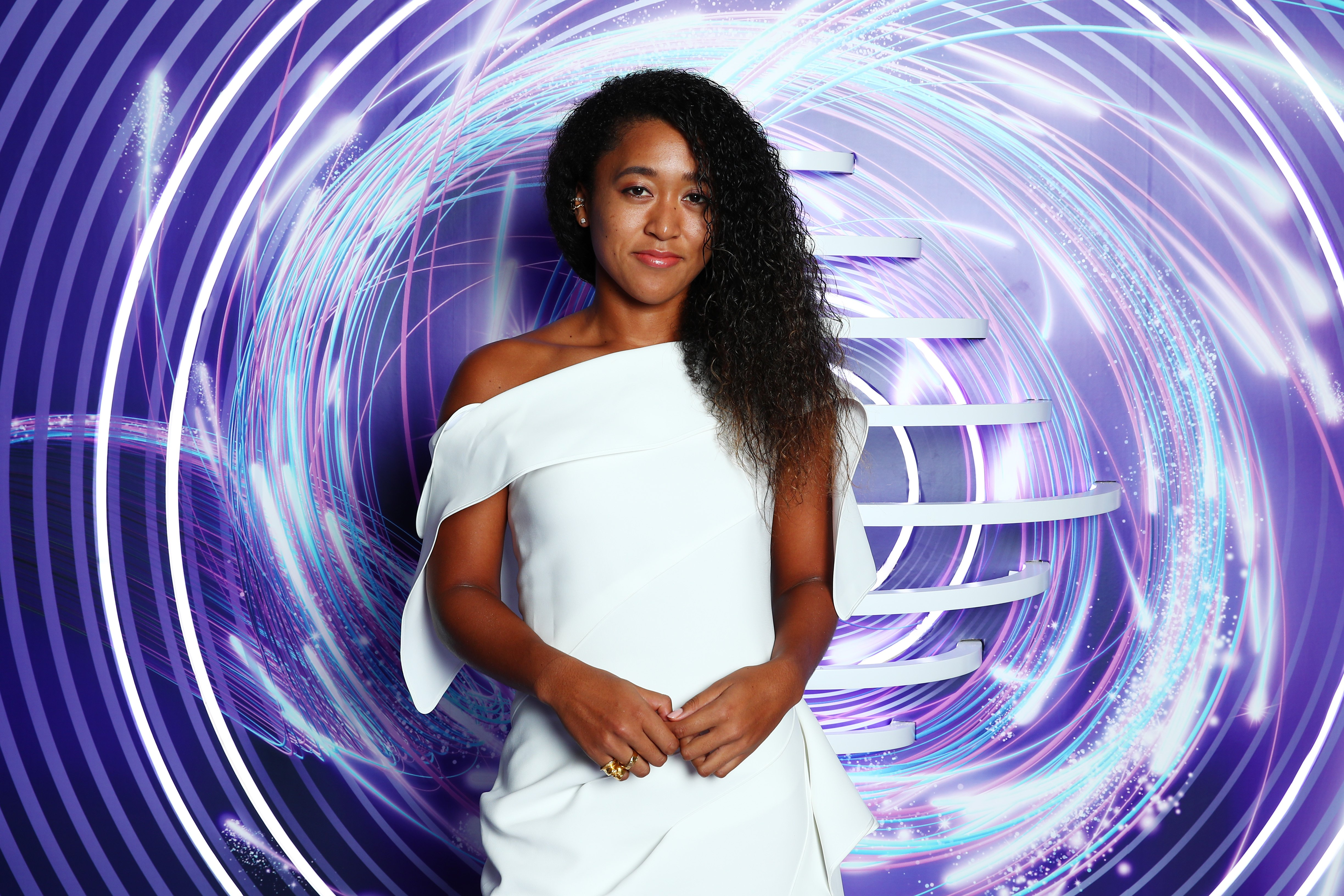 Naomi Osaka attends the Official Draw Ceremony and Gala of the 2019 WTA Finals at Hilton Shenzhen Shekou Nanhai in China on October 25, 2019. | Photo: Getty Images