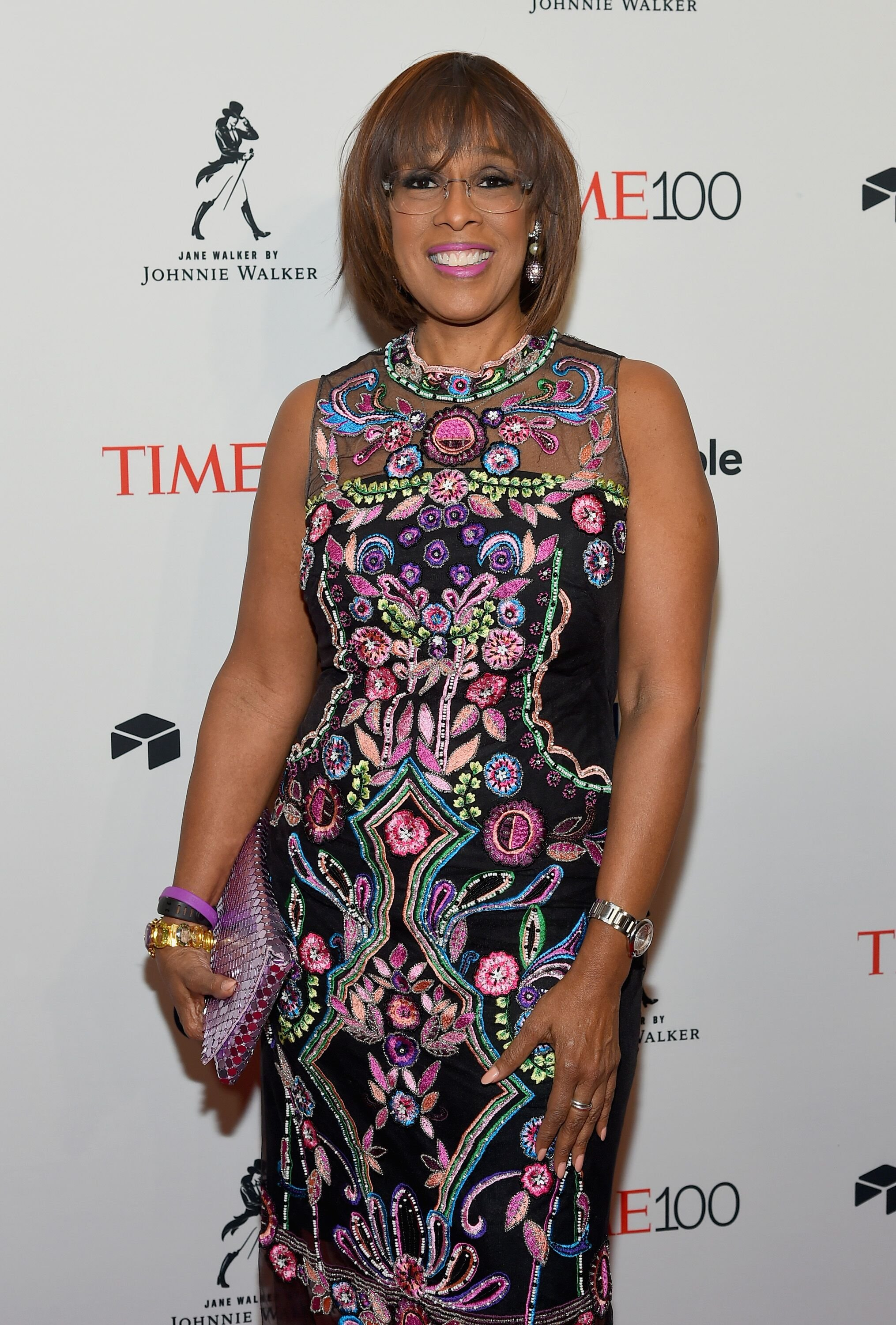 Gayle King attends the 2018 Time 100 Gala at Jazz at Lincoln Center on April 24, 2018 in New York City | Photo: Getty Images