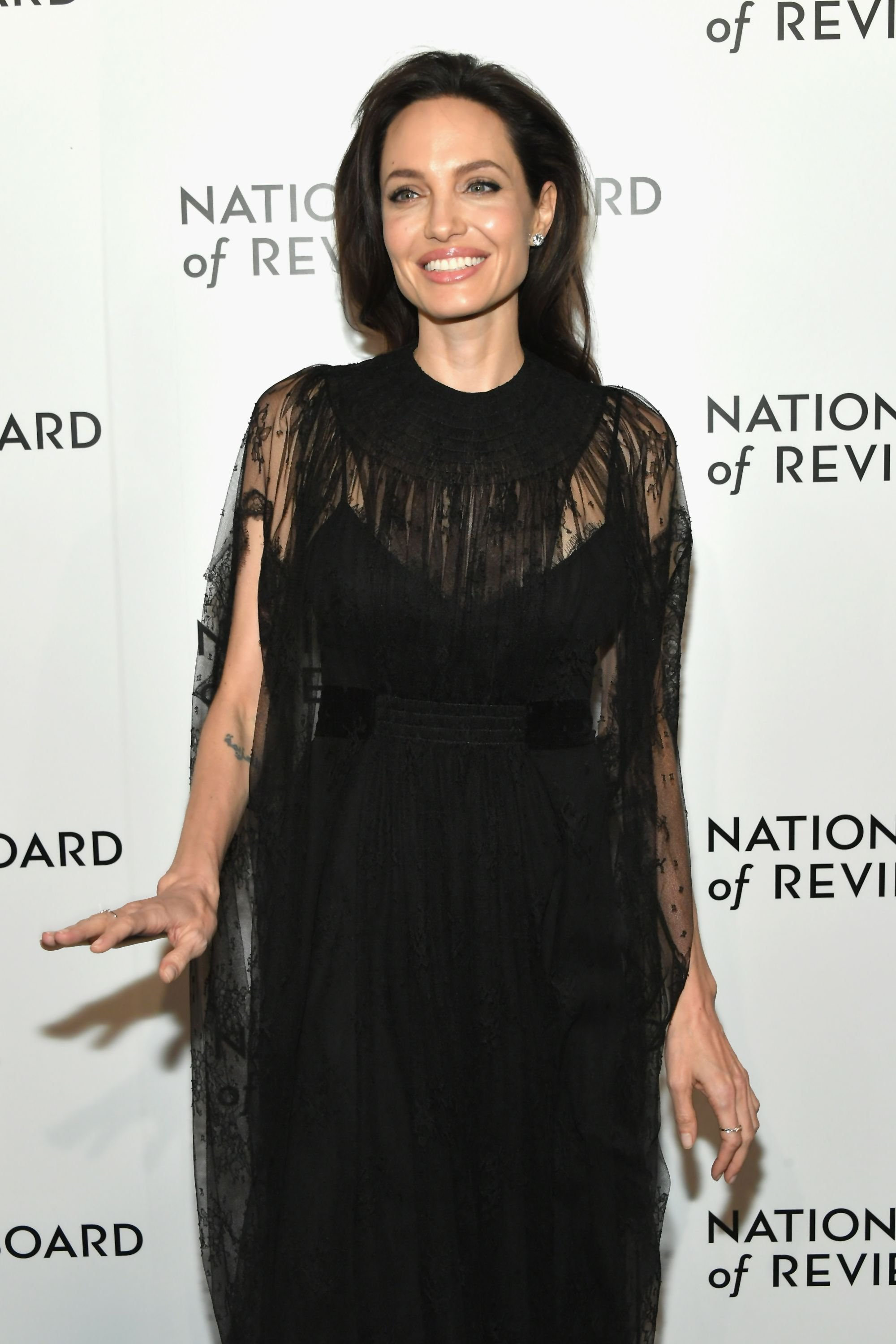 Angelina Jolie at The National Board Of Review Annual Awards Gala on January 9, 2018, in New York City | Photo: Getty Images