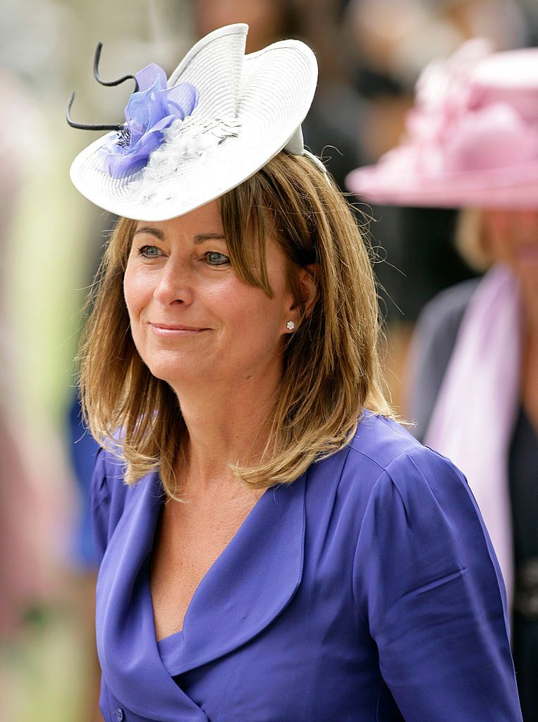 Carole Middleton attends day 5 of Royal Ascot at Ascot Racecourse on June 19, 2010 in Ascot, England. | Photo: Getty Images