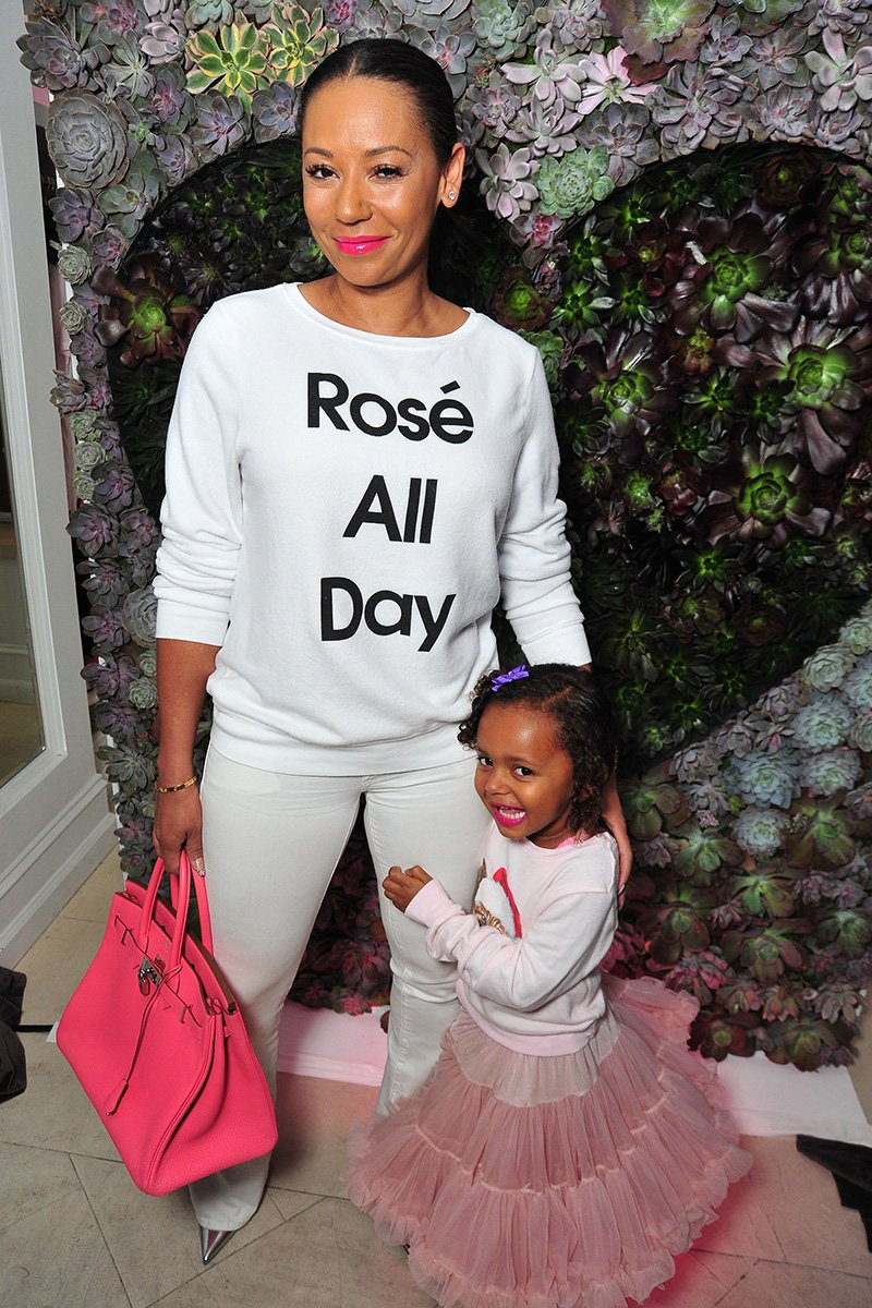 Mel B and daughter Madison Brown Belafonte attend the Launch Party for WILDFOX Loves Coca-Cola Capsule Collection on October 22, 2015 in West Hollywood, California. I Image: Getty Images.