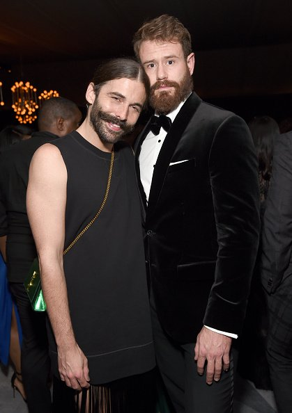 Jonathan Van Ness and Wilco Froneman at NeueHouse Hollywood on September 17, 2018 in Los Angeles, California. | Photo: Getty Images