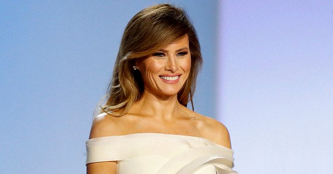 Melania Trump Stole the Show in Sleeveless Black Gown during the 2020 Governors' Ball