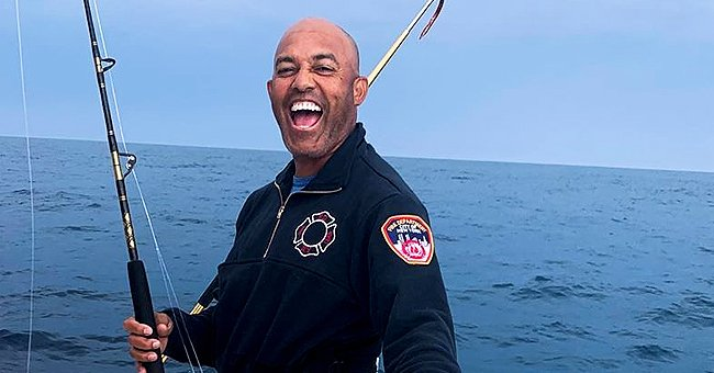 New York Yankees Star Mariano Rivera Enjoys His Weekend Fishing Trip (Photo)