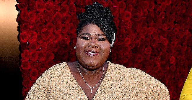 Gabby Sidibe Flaunts Her Weight Loss as She Dances in Striped Dress with Friend in New Video