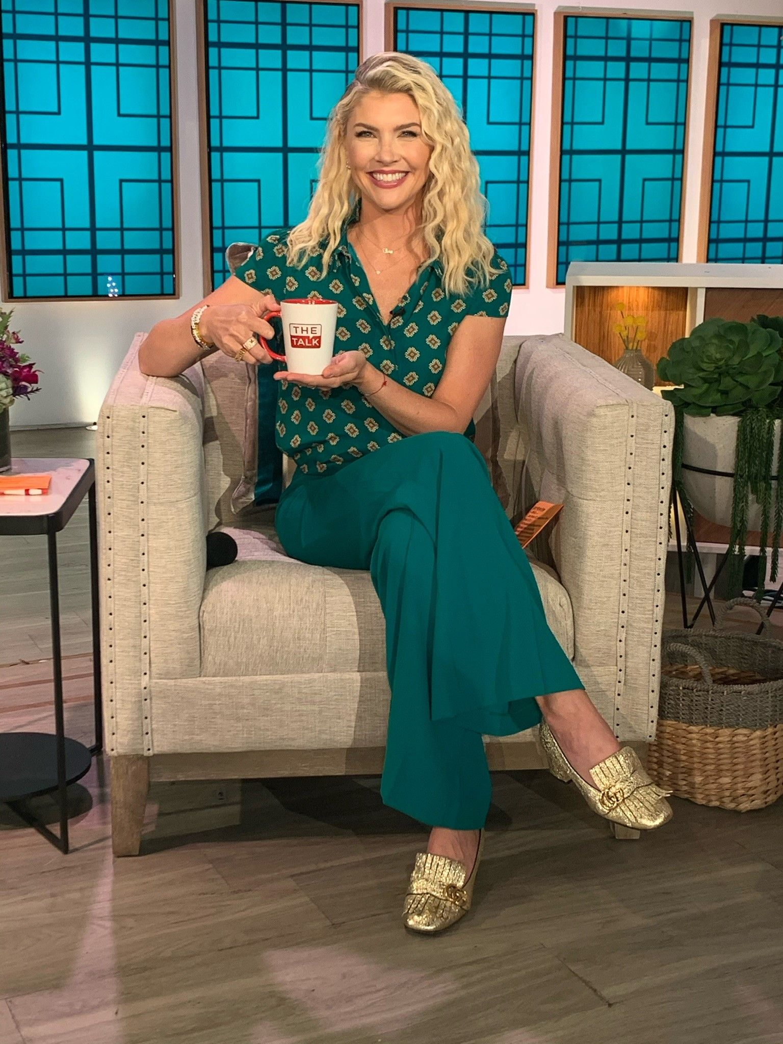 """Amanda Klootsannounced as a new host for season 11 of """"The Talk,"""" on December 1, 2020, on the CBS Television Network   Photo:CBS/Getty Images"""
