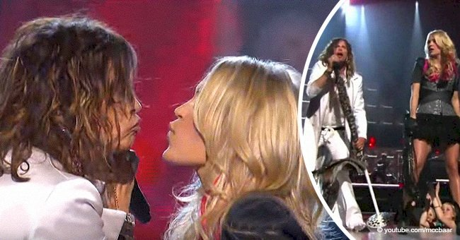 Steven Tyler joined Carrie Underwood on stage seven years ago for an unforgettable duet