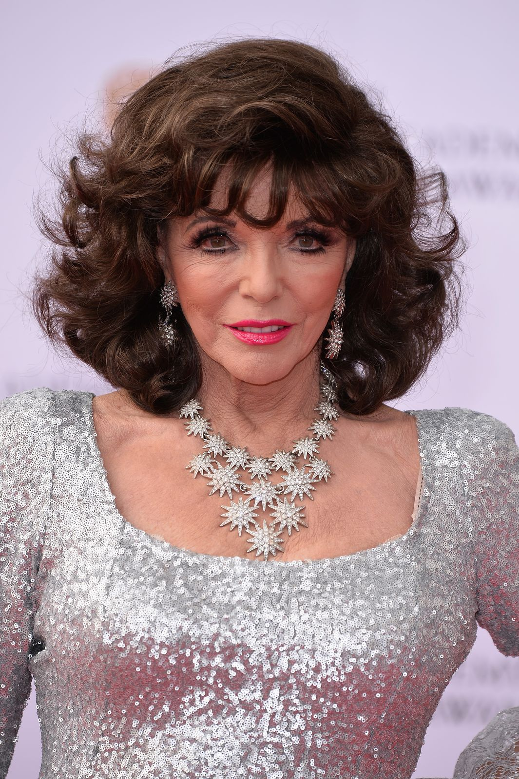 Joan Collins at the Virgin TV BAFTA Television Awards on May 14, 2017 | Getty Images