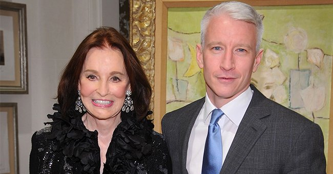 Anderson Cooper Honors His Late Mother Gloria Vanderbilt 1 Year After Her Death