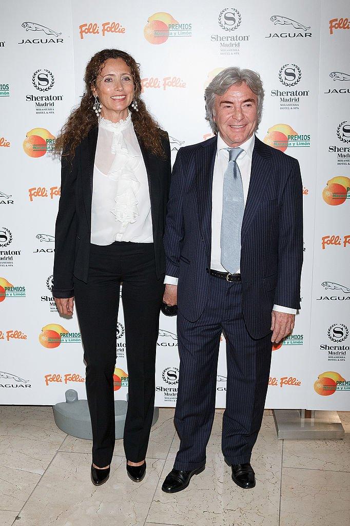 Belinda Alonso y Ángel Nieto.| Fuente: Getty Images