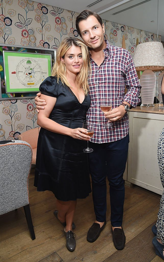 """Daphne Oz and John Jovanovic attend the """"A Tale Of Love & Darkness"""" after party. 