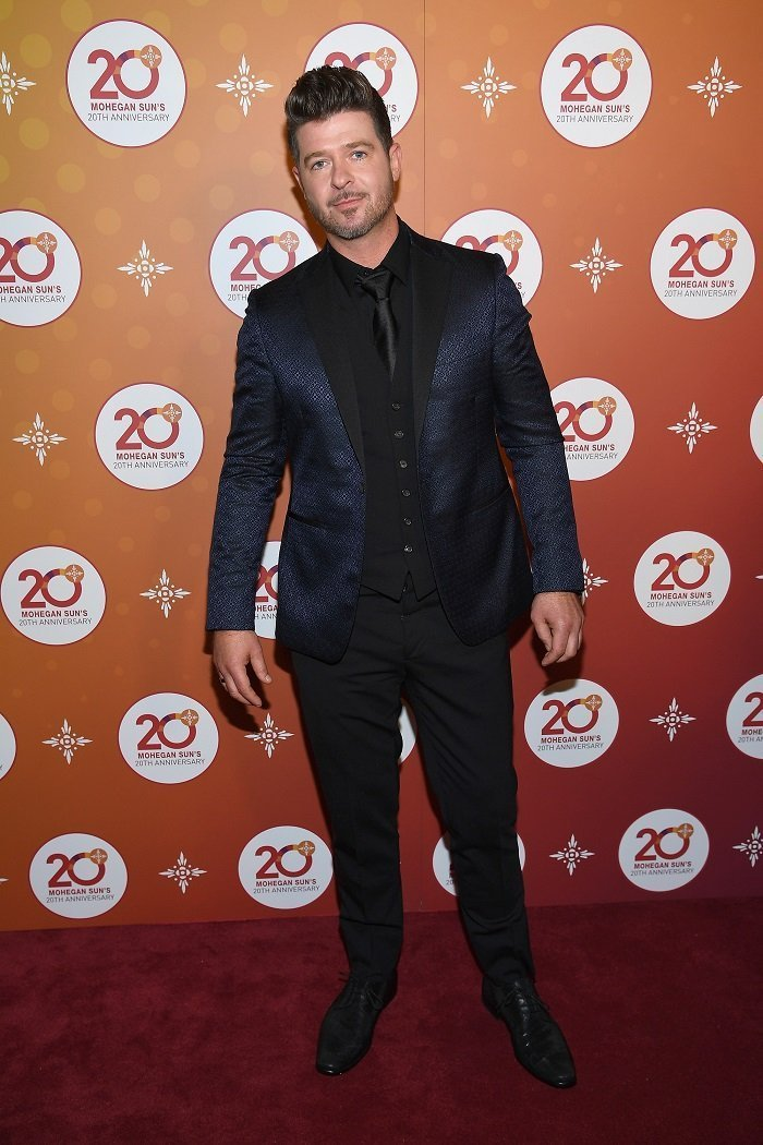 Robin Thicke I Image: Getty Images