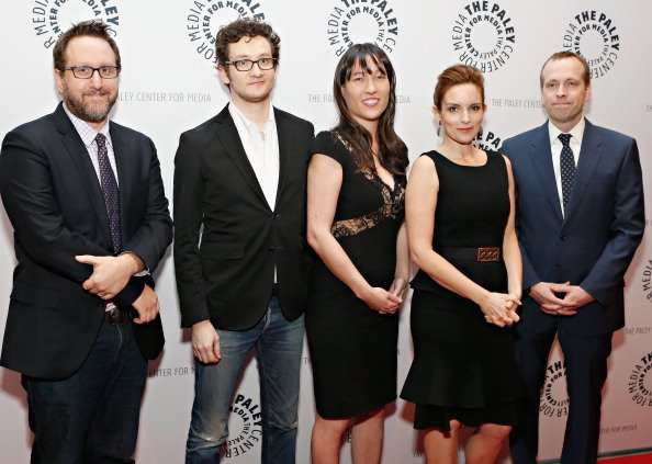 Josh Siegal, Dylan Morgan, Colleen McGuinness, Tina Fey, and Robert Carlock at The Paley Center for Media on February 27, 2013 in New York City. | Photo: Getty Images