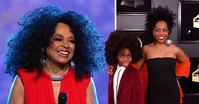 Diana Ross' Daughter Rhonda Talks about the Singer Being a Loving & Generous Grandma to Her Son Raif-Henok
