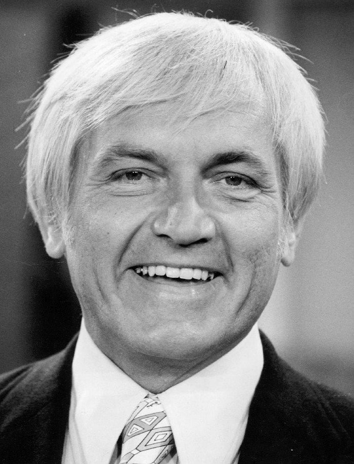 Photo of actor Ted Knight in October 1972. | Photo: Wikimedia Commons