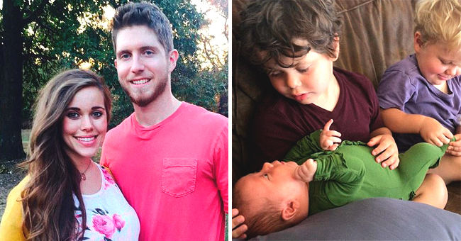 Jessa Duggar Shares Photos of 1-Month-Old Daughter Ivy Bonding with Her Little Brothers