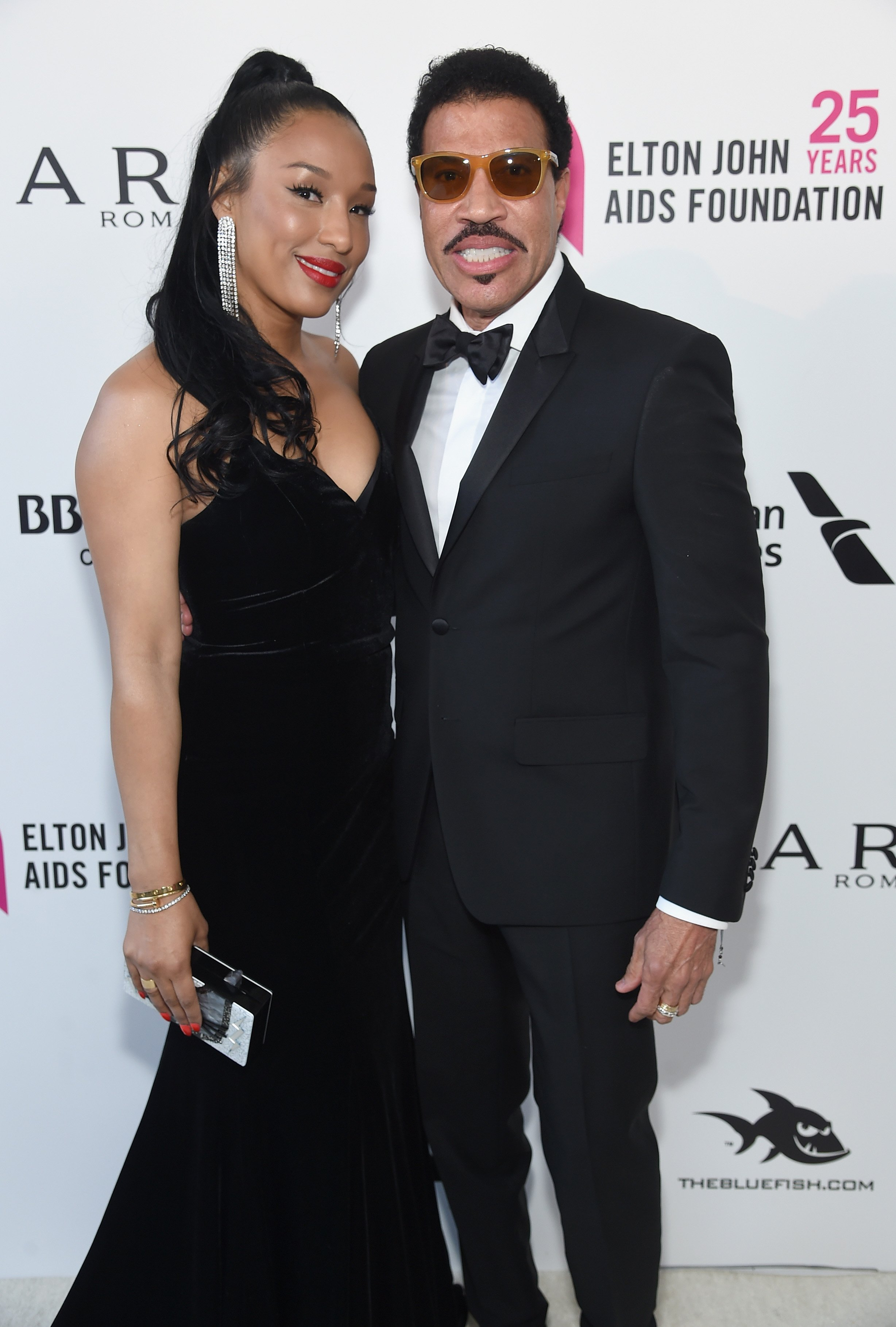 Lisa Parigi and Lionel Richie at the 26th annual Elton John AIDS Foundation Academy Awards Viewing Party on March 4, 2018 | Photo: GettyImages