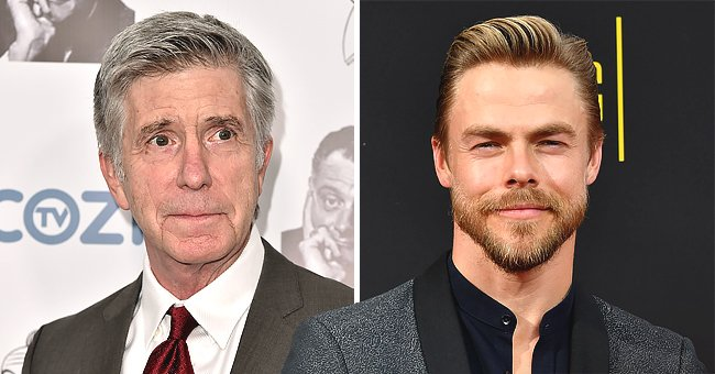 Derek Hough Reacts to Tom Bergeron's Exit from 'Dancing with the Stars'
