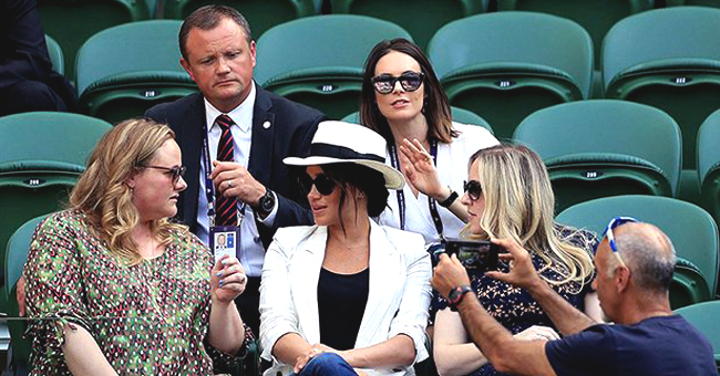 Meghan Markle's Guard Mistakenly Asks Wimbledon Fan Taking Selfies to Stop Snapping Pics of the Duchess