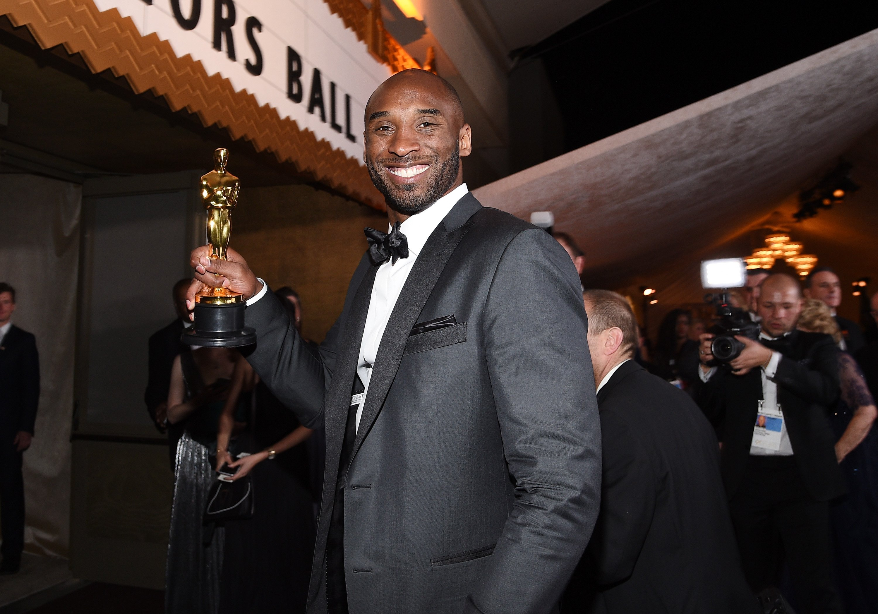 Kobe Bryant attends the 90th Annual Academy Awards Governors Ball at Hollywood & Highland Center on March 4, 2018 | Photo: GettyImages