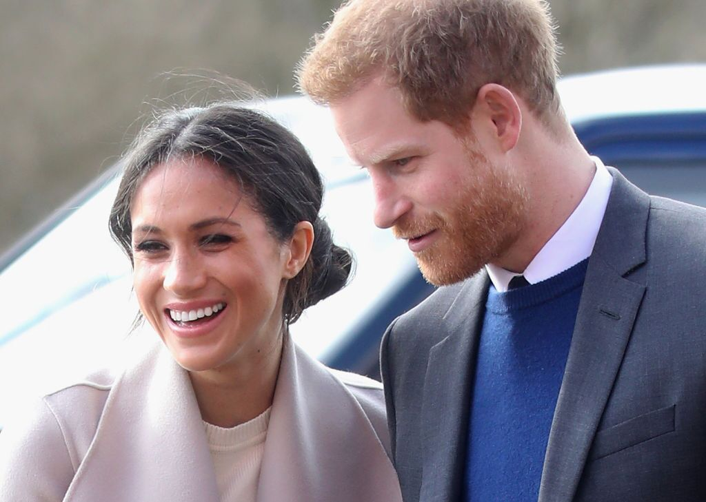 Prince Harry and Meghan Markle visit the Eikon Centre and attend an event to mark the second year of the youth-led peace-building initiative 'Amazing the Space' on March 23, 2018 | Photo: Getty Images