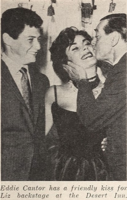 Image Credits: Wikimedia commons/ Eddie Fisher, Elizabeth Taylor, and Eddie Cantor