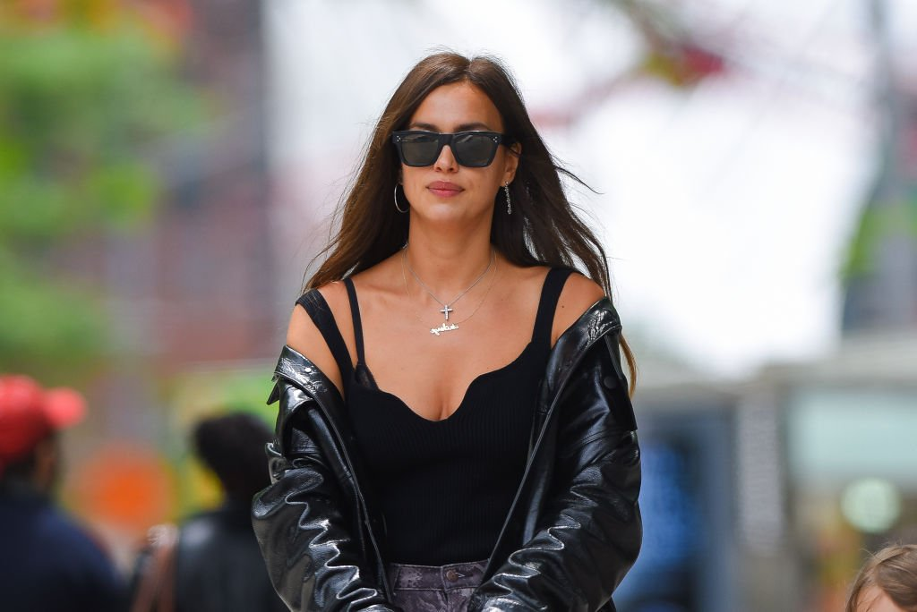 Irina Shayk is seen out in Manhattan, June 2021   Source: Getty Images