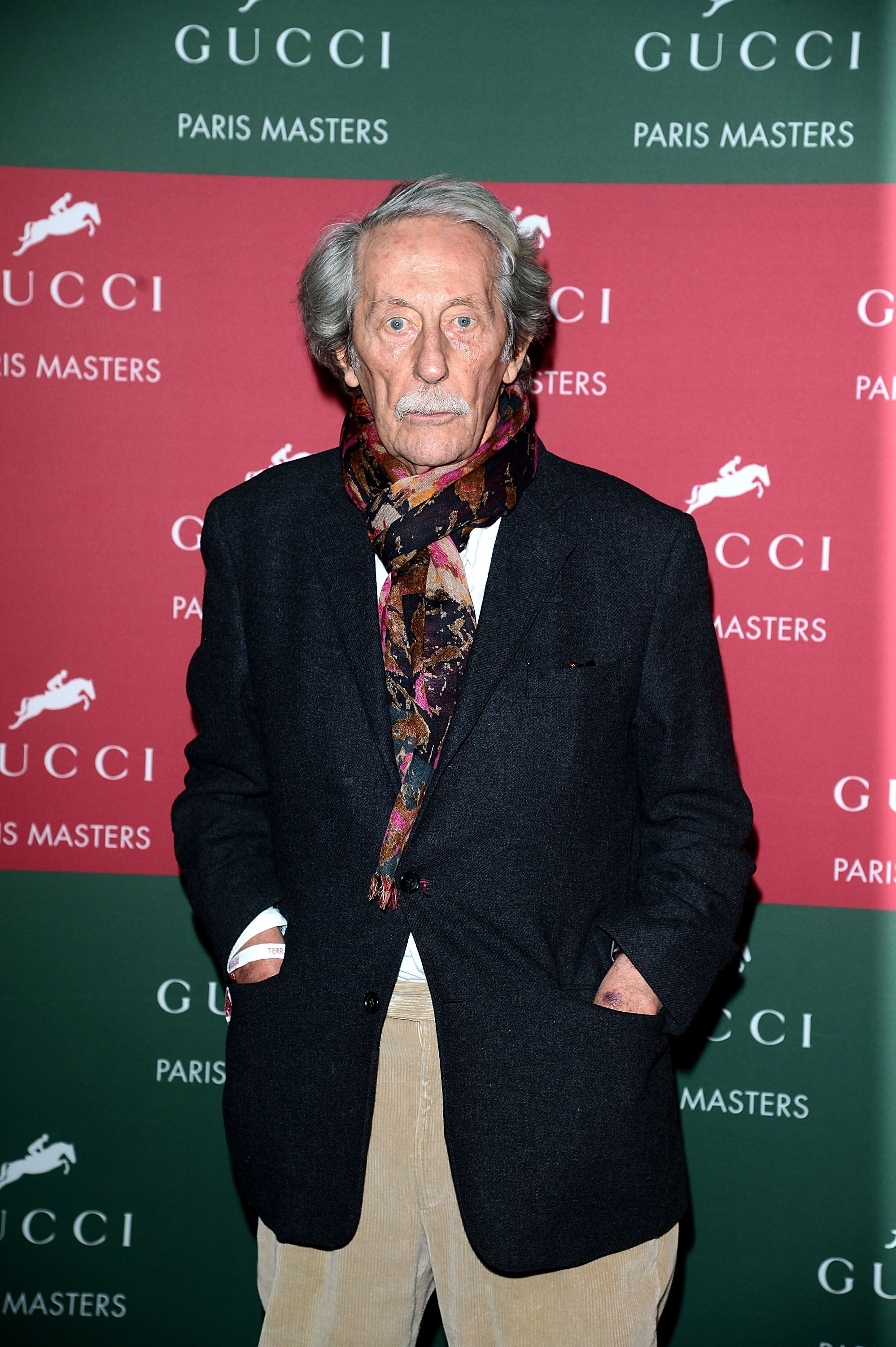 Jean Rochefort à Paris Nord Villepinte le 2 décembre 2012 à Paris, France. | Photo : Getty Images